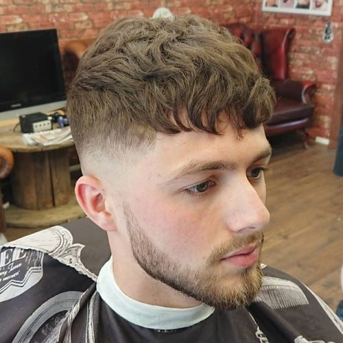 40 Best Fringe Haircuts For Men Hairstyles With Bangs 2020 Guide