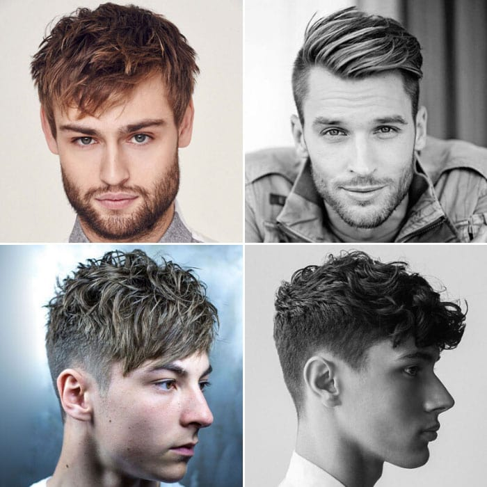 Men's Haircuts with Bangs