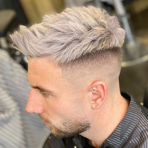 Bald Skin Fade Haircuts For Men