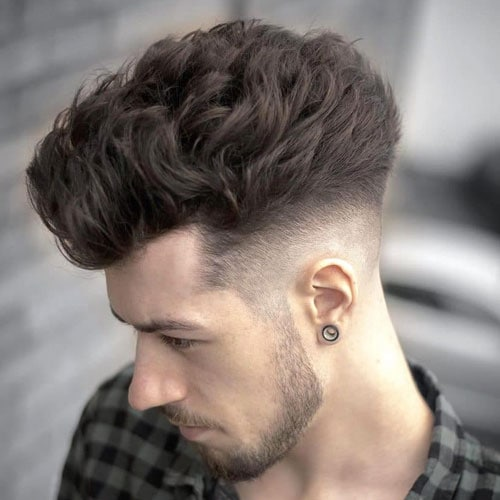 Blowout Taper Fade Haircut
