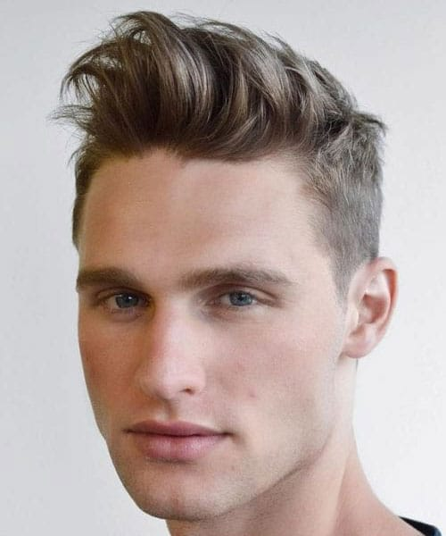 Brushed Up Hairstyles For Guys