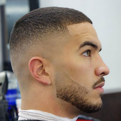 Buzz Cut Bald Fade