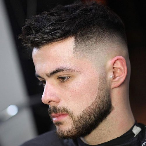 Cool Bald Fade Haircuts For Men
