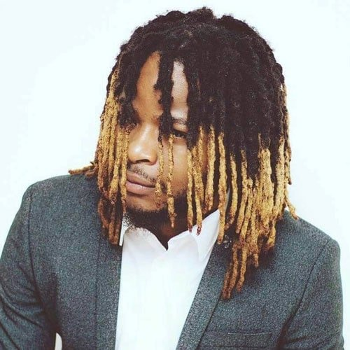 Dyed Dreads Men