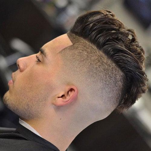 Mohawk Bald Fade