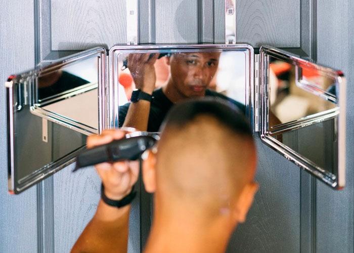 Self Haircut Mirror