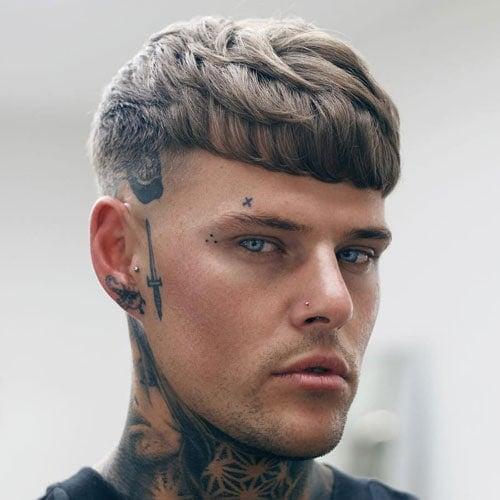 Stylish Bowl Cut Men