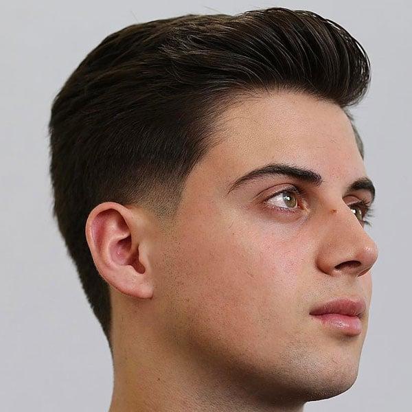 No Sideburns Haircut