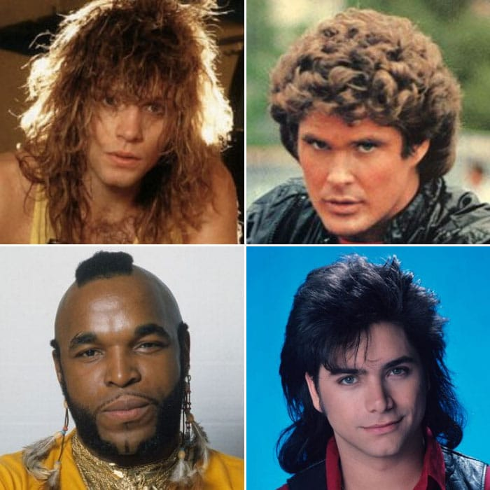80s Hairstyles For Men