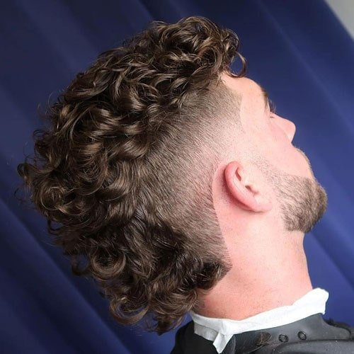 Curly Mullet