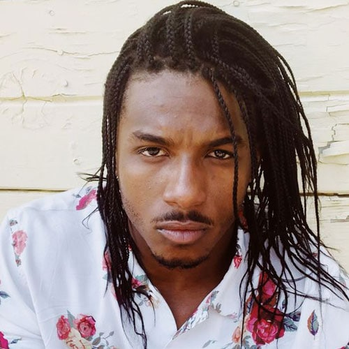Long Hair Twists Men