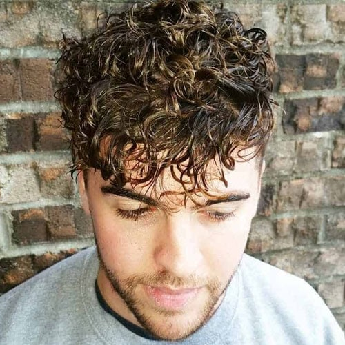 Loose Perm Men