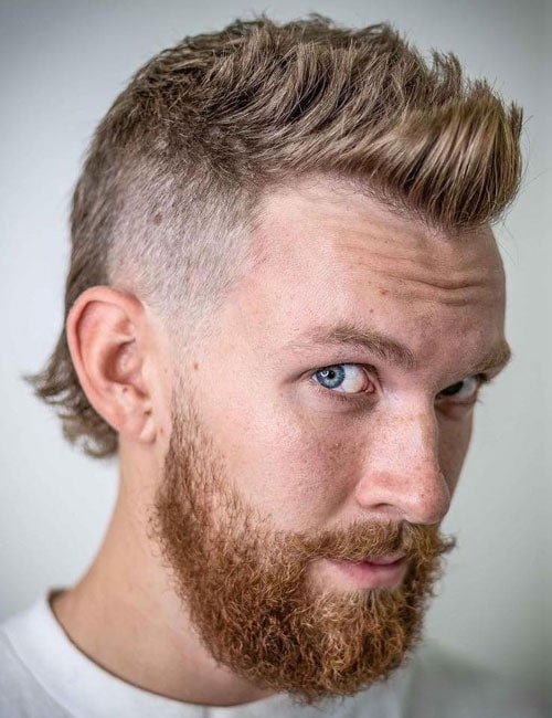 Men's Mullet Haircut