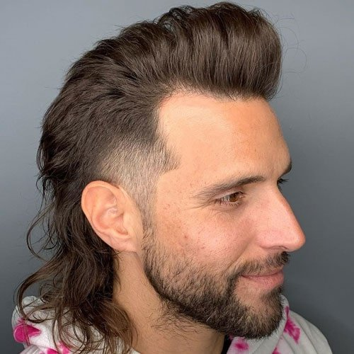 Thick Hair Mullet