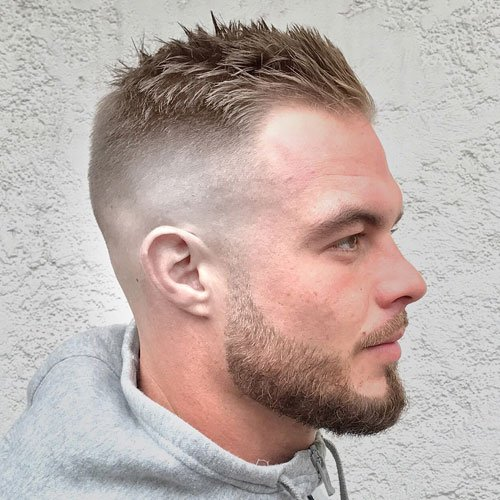 Fade Haircut For Balding Men