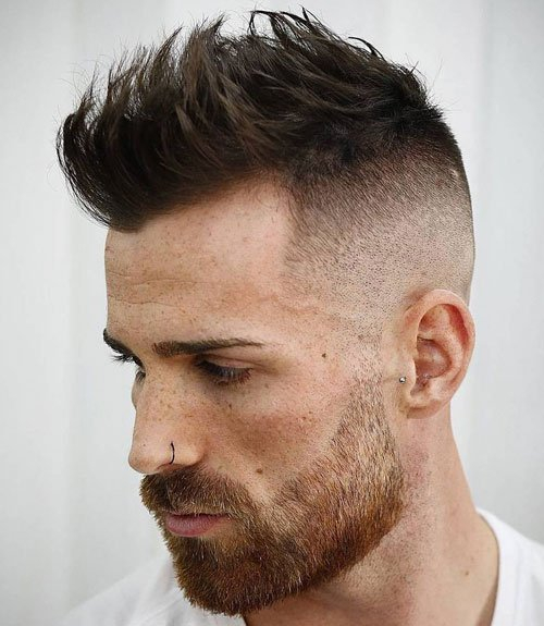Fade Haircuts For Men with Thinning Hair