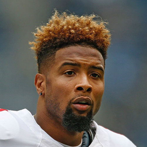 Odell Beckham Jr Curly Fade