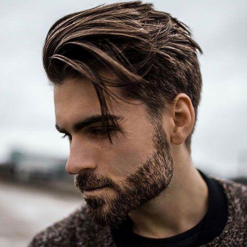 Side Swept Haircut