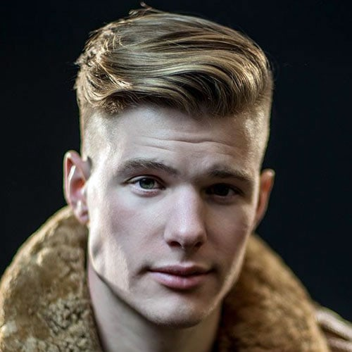 Side Swept Undercut Hairstyle For Men
