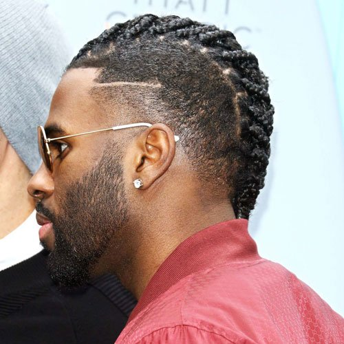 Mohawk Cornrows Men