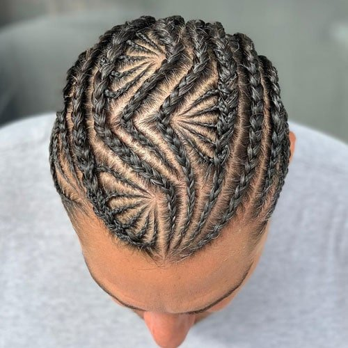 Small Cornrows Hairstyles Men