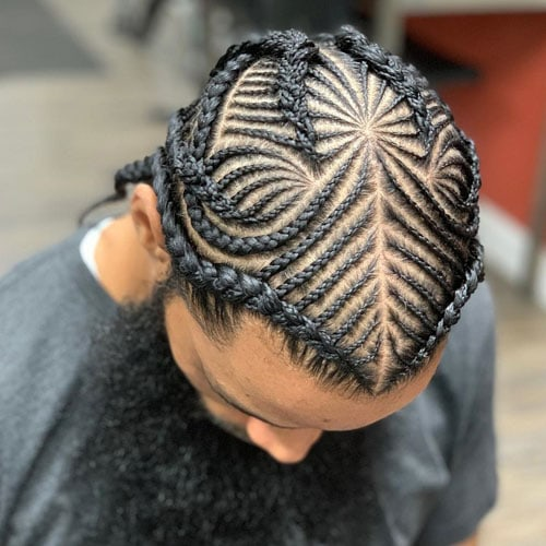 Small Cornrows Men