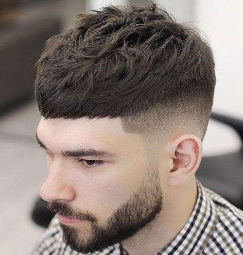 Edgar Haircut with Beard
