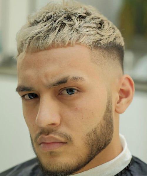 Edgar Haircut with Blonde Hair