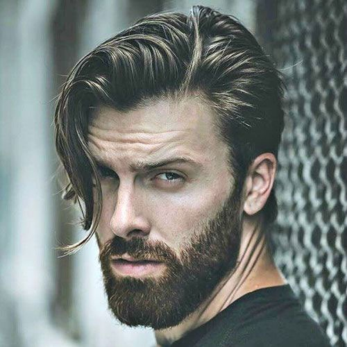Longer Widow's Peak Hairstyles For Men