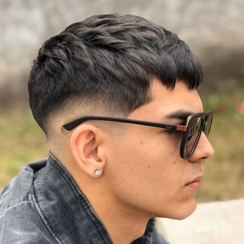 Short Spiky Edgar Haircut