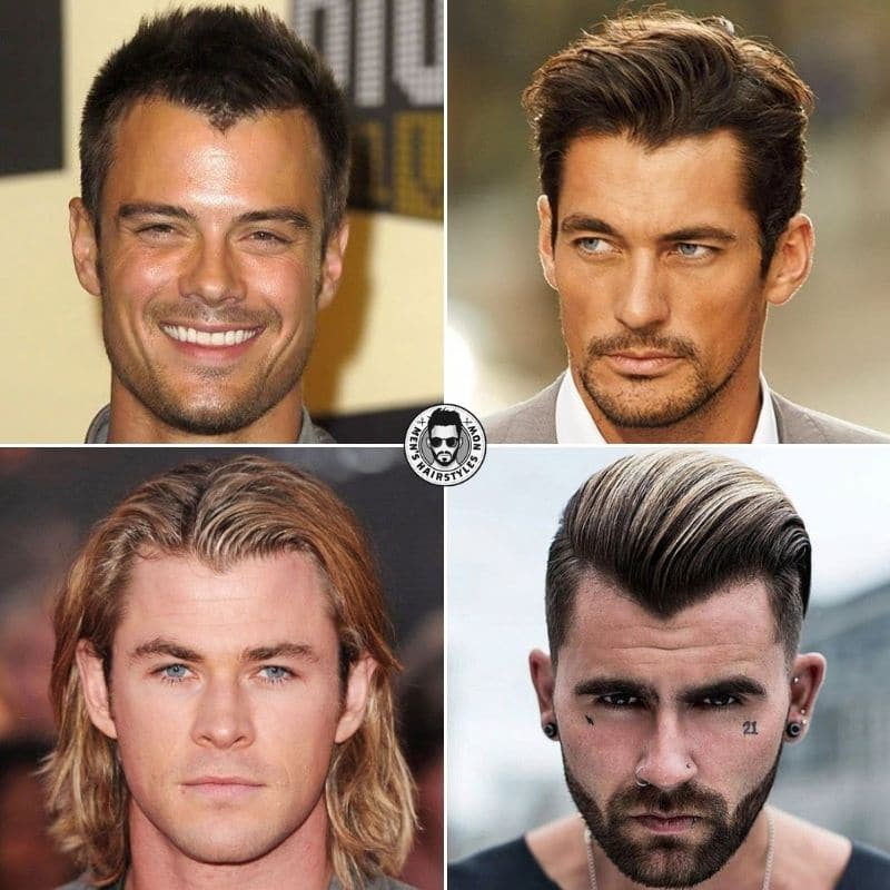 Widow's Peak Hairstyles For Men