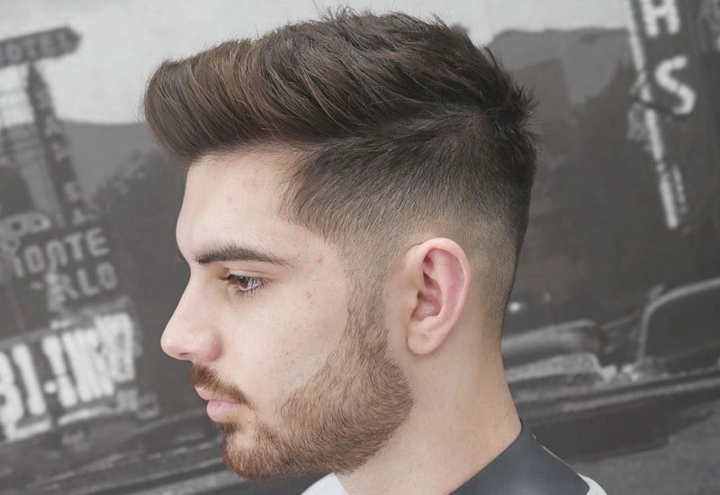 Simple Easy Fade Haircut