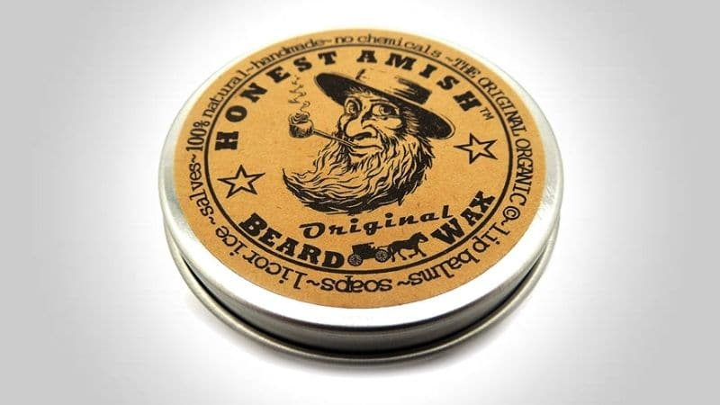 Honest Amish Beard Wax