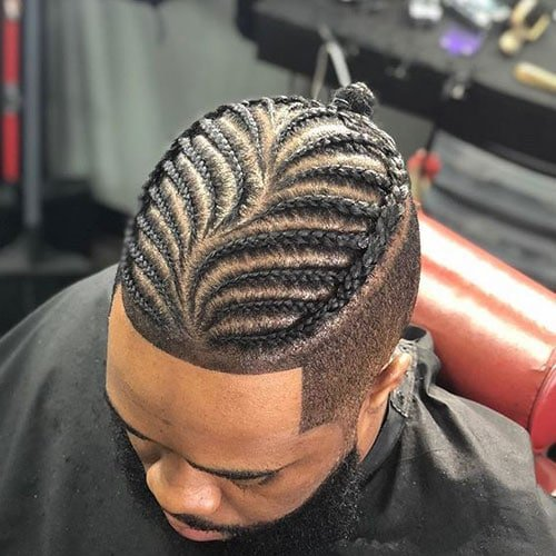 Modern Cornrows Men