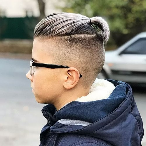 Top Knot For Boys