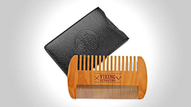 Viking Revolution Wooden Beard Comb