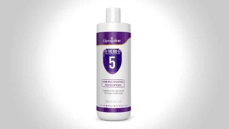 Lipogaine Hair Growth Stimulating All Natural Shampoo