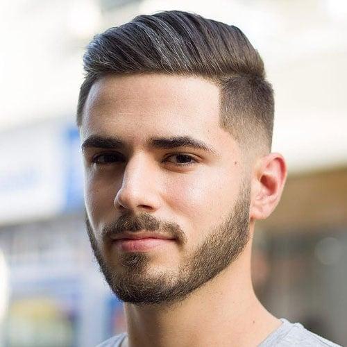 Medium Comb Over Fade