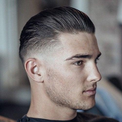 Medium Hair with Low Fade