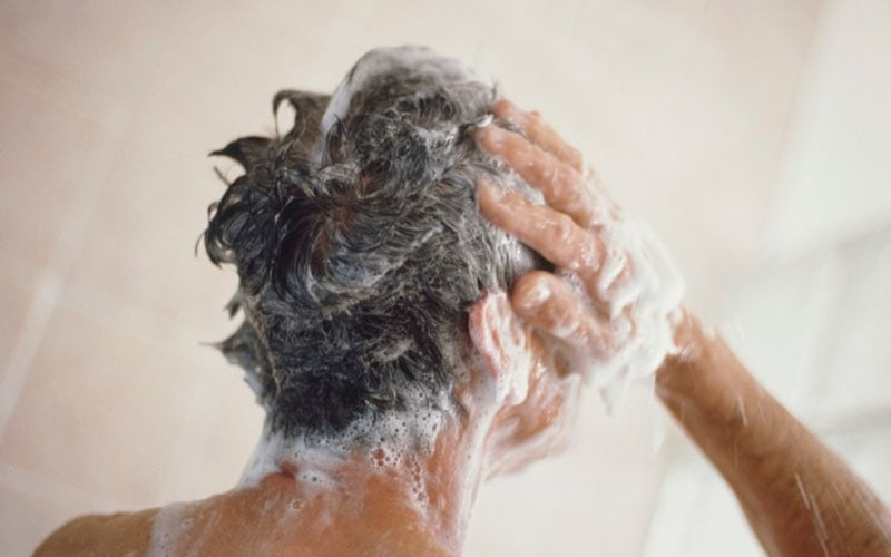 Use Less Shampoo and More Conditioner