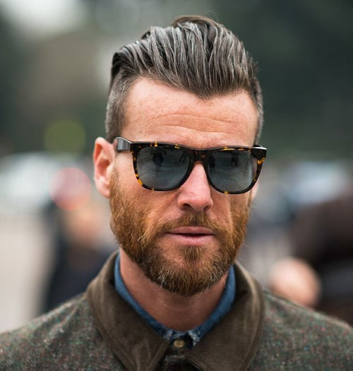 Classic Slick Back Hairstyles