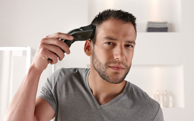 Trim Your Hair with Clippers
