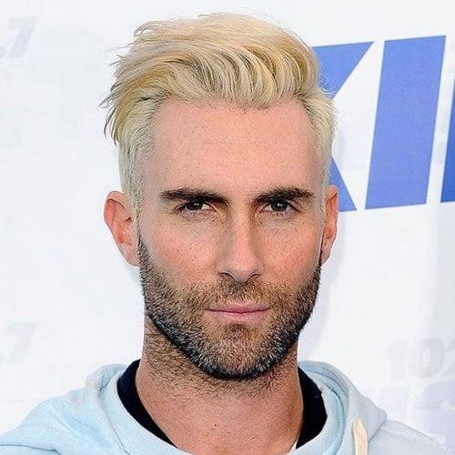Bleach Blonde Hair Men