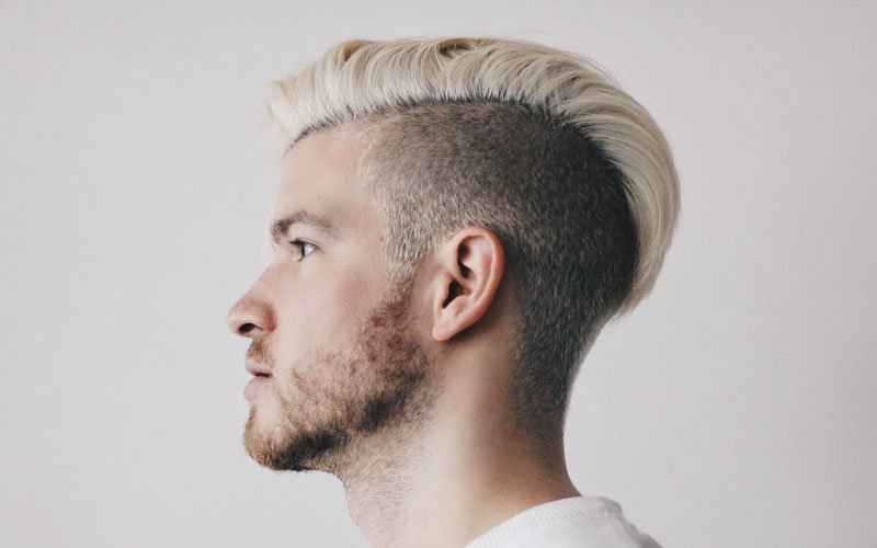 Bleached Hairstyles For Men
