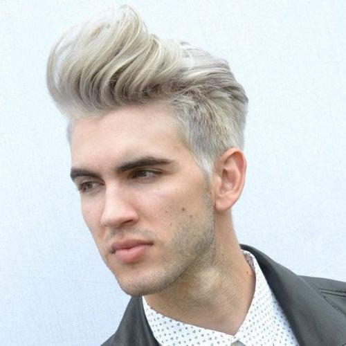 Platinum Blonde Hairstyles Men