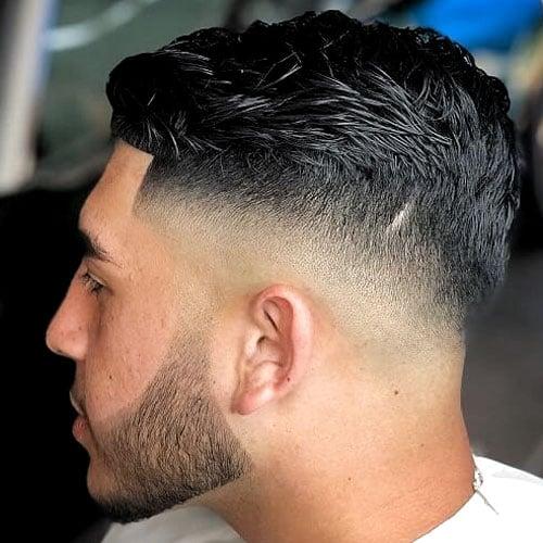Drop Fade Comb Over