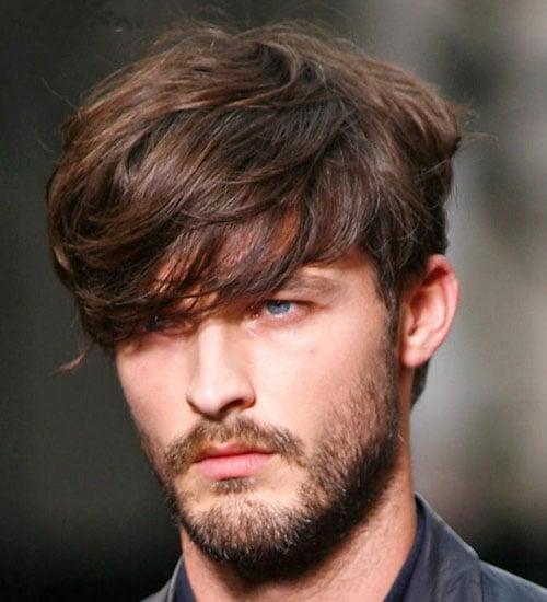 Shaggy Hair with Beard