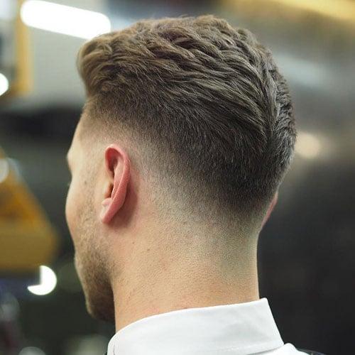 Low Maintenance Fade Haircuts For Men