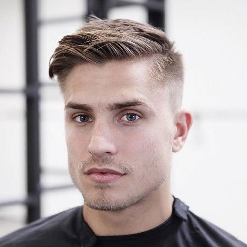 Low Maintenance Men's Medium Hairstyles