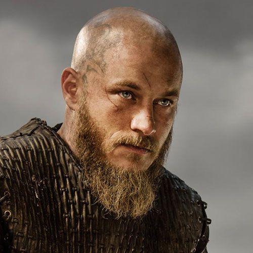 Shaved Head with Beard